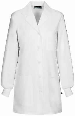 "Cherokee 1362AB Women's 32"" Lab Coat Medical Uniforms Scrubs"