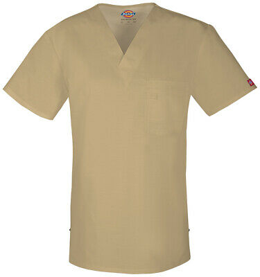 Dickies Other 81800 Men's Men's V-Neck Top Print Scrubs