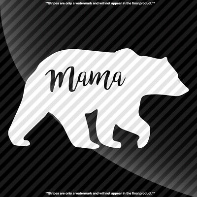 Mama Bear Decal Sticker - TONS OF OPTIONS