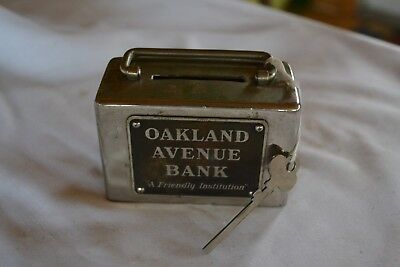 Oakland Avenue Bank with key