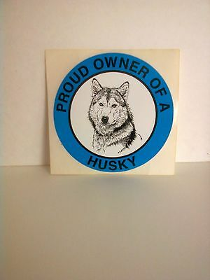 Two Proud Owner Of A Husky Window Decal Decals