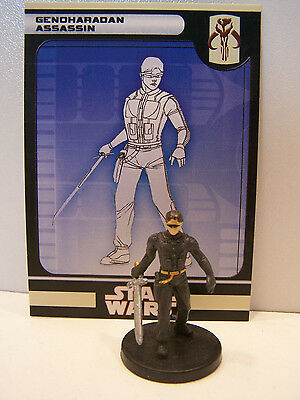Star Wars Miniatures Legacy of the Force 2008 GenoHaradan Assassin 40/60