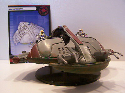 Star Wars Miniatures Legacy of the Force 2008 ISP Speeder 1/60