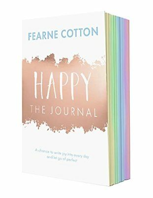 Happy The Journal A chance to write joy into by Fearne Cotton Paperback Book New