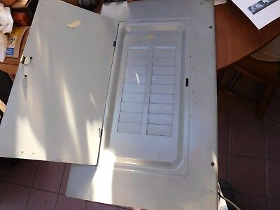 GE Breaker Panel Cover  Surface Mount New 18 slots 21 3/8 x 12 3/4