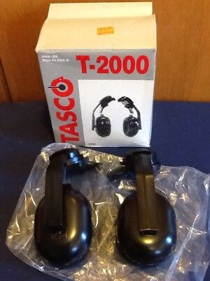 Tasco T-2000 Hard Hat Mount 22 decibels Ear Muffs CSA Class B NRR=22