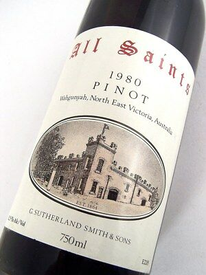 1980 ALL SAINTS Pinot Noir Pinot Meunier Shiraz B Isle of Wine