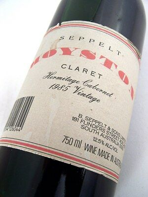 1985 SEPPELT Moyston Claret Red Blend Isle of Wine