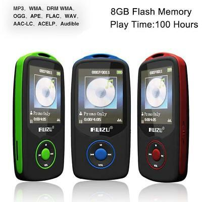 64G Support RUIZU X06 Bluetooth Sport MP3 Player TF Card Music Media 1.8 TFT UB