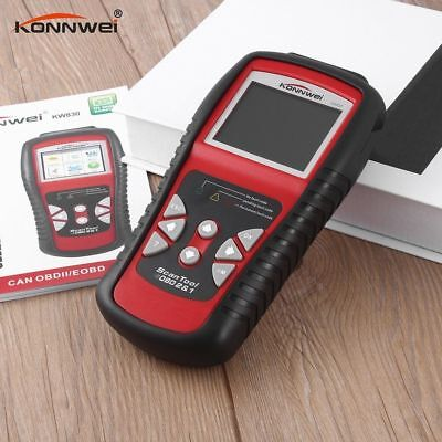 KW830 AL519 Car OBD2 EOBD CAN Engine Diagnostic Scan Tool Fault Code Reader UB