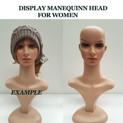 MANNEQUIN HEAD FOR WOMAN Strong material Sydney Pick up / Delivered Shop Display