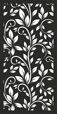 Decorative Screen Indoor/Outdoor Laser Cut Privacy Garden Panel 1200x600mm