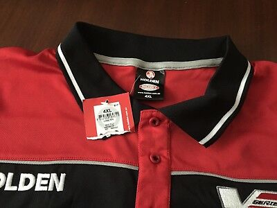 Holden Size 4XL Mens Short Sleeve Polo Shirt, brand New With Tag