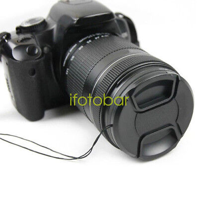 Universal 58mm Snap-On Front Lens Cap Cover For Canon Nikon Sony camera