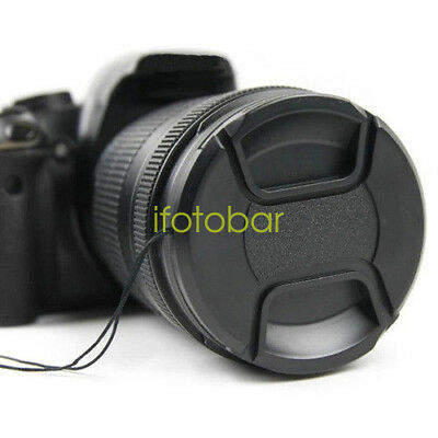 62mm Front Lens Cap Cover for Canon Nikon Sony Fuji Pentax Olympus Camera