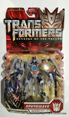 Transformers Revenge Of The Fallen Deluxe Class : Soundwave - New Rotf