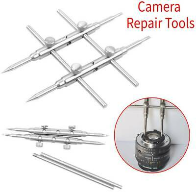 Camera Lens Spanner Wrench Repair Open Tool Ring Remover Stainless Clean
