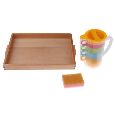 Montessori Practical Life Material - Basic Pouring Kit Kids Educational Toys