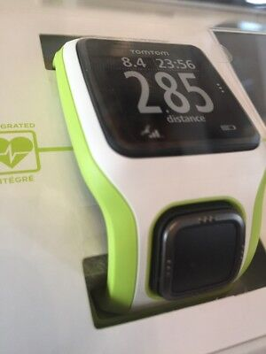 TomTom Multi Sport Cardio GPS Watch - Green/White