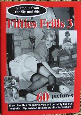 """Fifties Frills No 3"".  Book of Yet More Super Vintage 1950/60's Lingerie Photos"