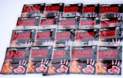 """LITTLE HOTTIES HAND WARMERS -20 Packs of 2 = 40 Warmers *THIS YEARS STOCK"""""""