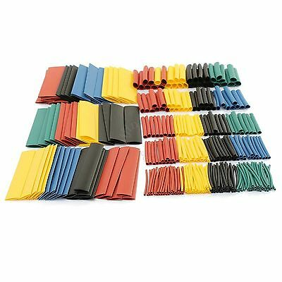 70/150/328Pcs Heat Shrink Tubing Assortment Cable Sleeving Tube Wrap Size 1-14mm