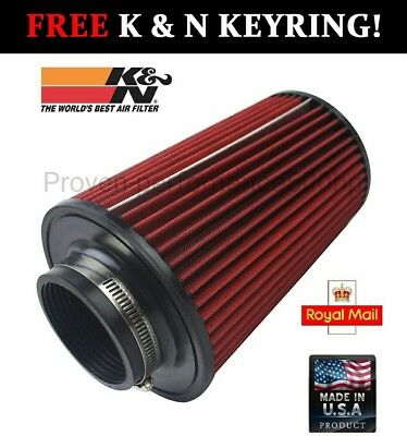 "K&N Large universal air filter 3"" 76MM K and N long big"
