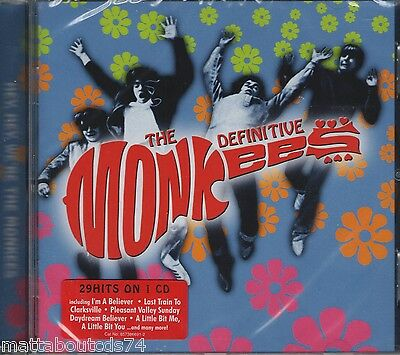 The Monkees - The Definitive.....    *new & Sealed  Cd Album*