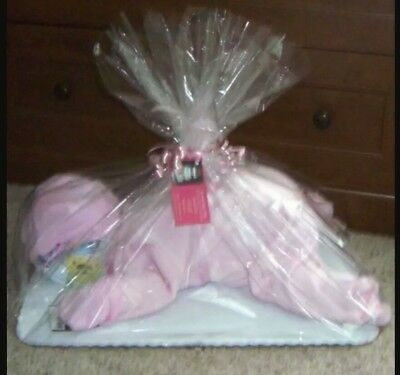 Baby Shower * Baby Gifts * sleeping baby nappy cake