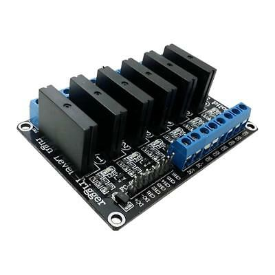 24V 6 Channel Solid State Relay SSR 240V 2A Module for Arduino Raspberry Pi