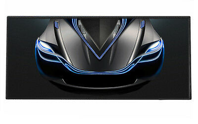 900x400mm Cool Car Prints Extended Gaming Wide Large Mouse Pad Big Size Desk Mat