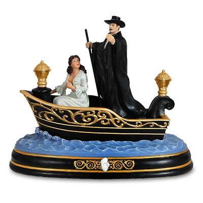 SF Music Box PHANTOM OF THE OPERA Phantom & Christine Journey to the Lair NEW