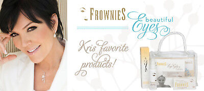 FROWNIES Wrinkle Remover Facial Pads Forehead Between Eyes & Mouth 18 Patches