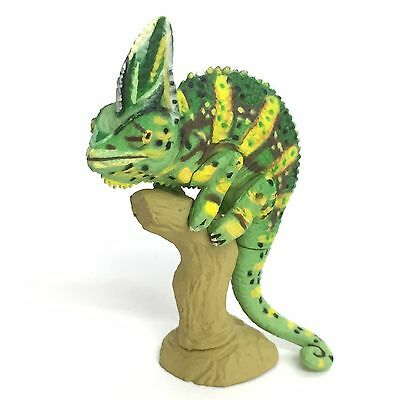 Choco Q Mini Figure Veiled Chameleon High Yellow Kaiyodo Japan choco egg