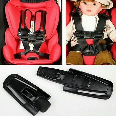 Houdini Stop Type Car Seat Buggy Clip/ Special Needs Child Harness Escape Block