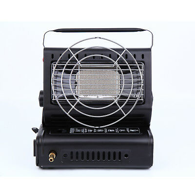 Portable Butane Gas Heater Outdoor Camping Hiking Warming Heating BBQ Grill