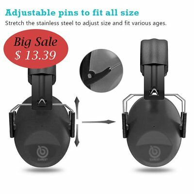 Protection Hearing Ear Muffs Shooting Noise Gun Range Safety Headphones Protact