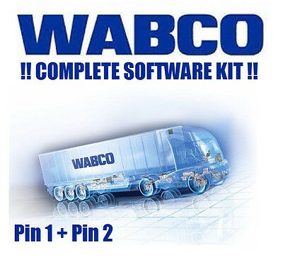 WABCO DIAGNOSTIC SOFTWARE + PIN1 and PIN2 !!!! SPECIAL OFFER !!!!