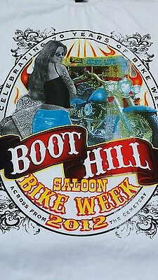 "10 x Shirt ""Boot Hill Bike Week"" von ROCAWEAR"