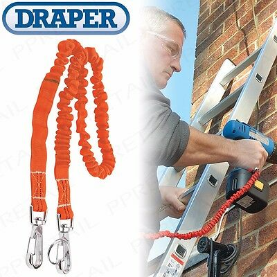 3KG TOOL LANYARD Heavy Duty Safety Elastic Bungee Harness Belt Attachment Line