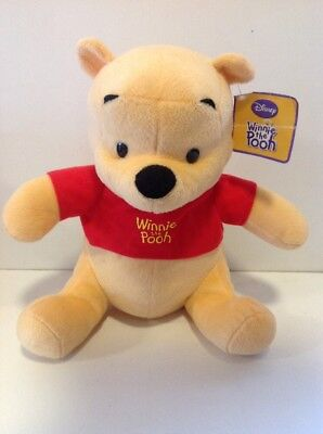 "Disney Winnie The Pooh 10"" Bear With Tags"