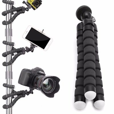 Tripod Stand Gorilla Monopod Mount Holder Octopus Flexible For GoPro Camera