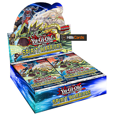 Yu-Gi-Oh Spirit Warriors Sealed Booster Box of 24 Packs - Six Samurai: TCG Cards