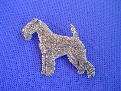 Lakeland Terrier Pin #94A wirehair Pewter Dog Jewelry by Cindy A. Conter Terrier