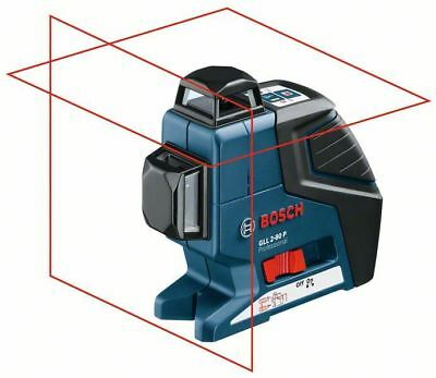 Bosch GLL 2-80P + BS150 - 360 Degree Vertical and Horizontal Line Laser + Tripod