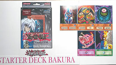 Yu-Gi-Oh Custom Anime Orica - BAKURA DECK STARTER COMPLETE - 45 CARDS FOR KIDS