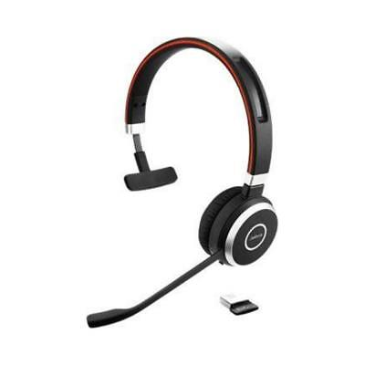 Jabra Evolve 65 MS Mono Headset Wireless Kopfbügel Bluetooth 10h 30m