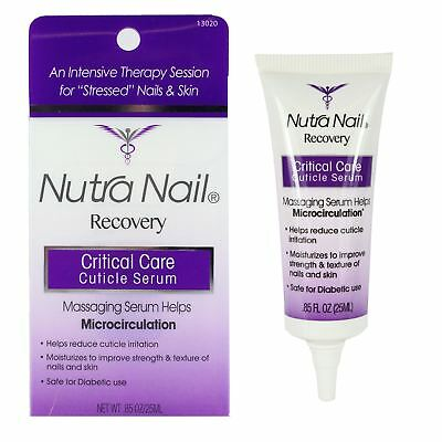Nutra Nail Critical Care Cuticle Serum Moisturizing Nail Care
