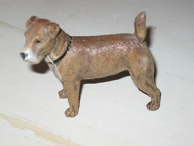 Heyde Germany, Standing Airedale Terrier Dog; Cast Metal Figure; Collectible Dog