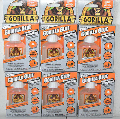 Gorilla 4500104 Clear Glue 1.75 Oz. Clear  QTY1